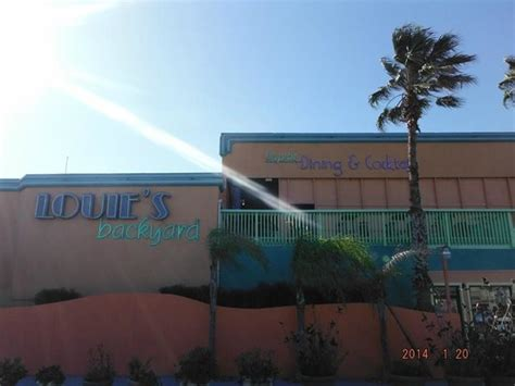 Louie S Backyard Spi by Store Front Picture Of Louie S Backyard South Padre Island Tripadvisor