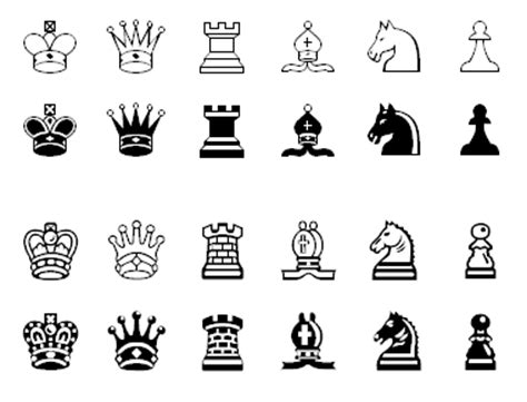 Magnetic Chess Pion Figure Board chess fonts