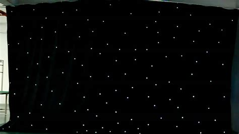 W T International Ltd Led Star Curtain Video Mov Youtube