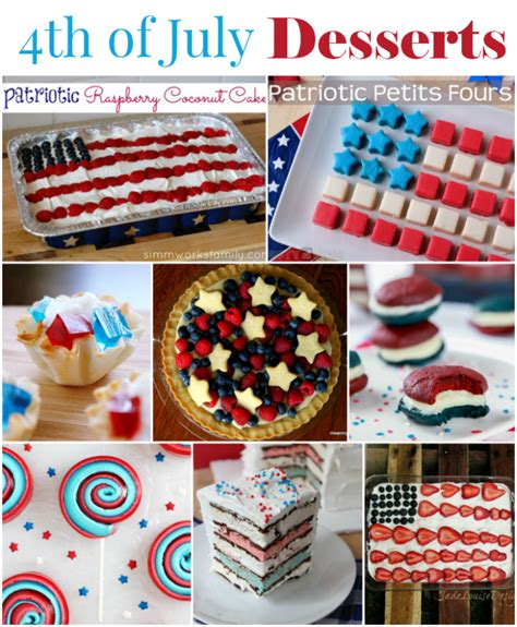4th of july desserts to complete your independence day celebration