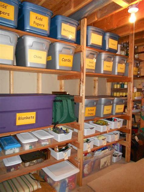 basement storage ideas   organizing tips digsdigs