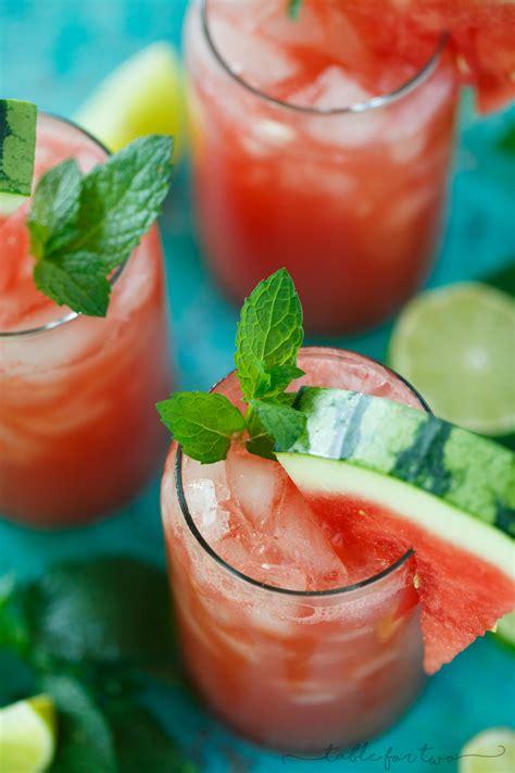 Watermelon Lime Mint Drink Detox by Watermelon Mint Lime Juice Watermelon Lime Agua Fresca