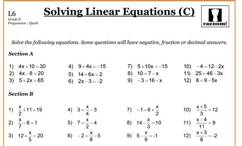 printable maths worksheets year 8 year 8 maths worksheets cazoom maths worksheets