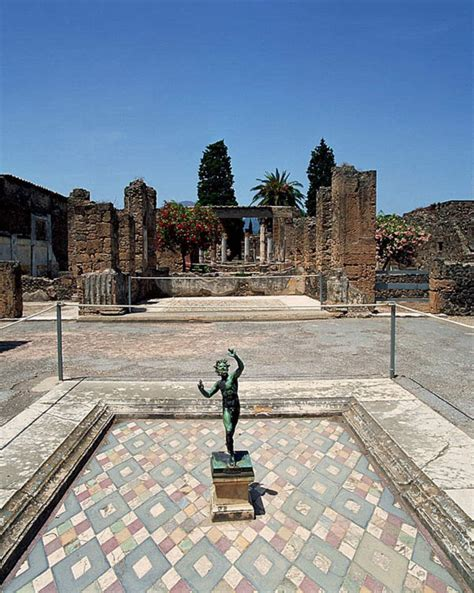 House Of The Faun by The Tuscan Atrium