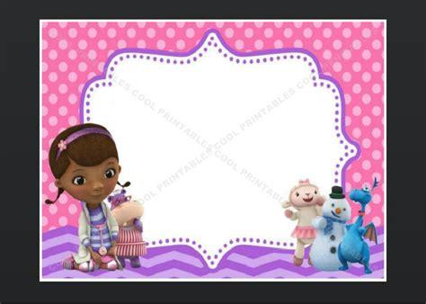 doc mcstuffins invitations template free free custom