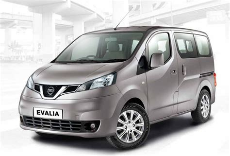Karpet Nissan Evalia iab report nissan evalia facelift with new grille and