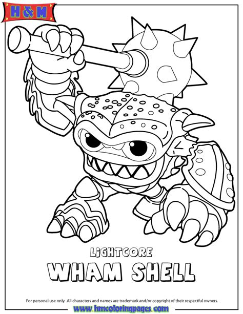 free coloring pages of skylander dream