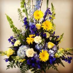 any design of flowers funeral flower arrangement for san diego chargers fan