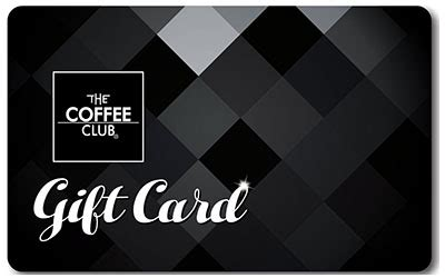 Coffee Club Gift Card - club card www pixshark com images galleries with a bite