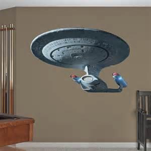 Star Trek Wall Mural U S S Enterprise Ncc 1701 D Wall Decal Shop Fathead