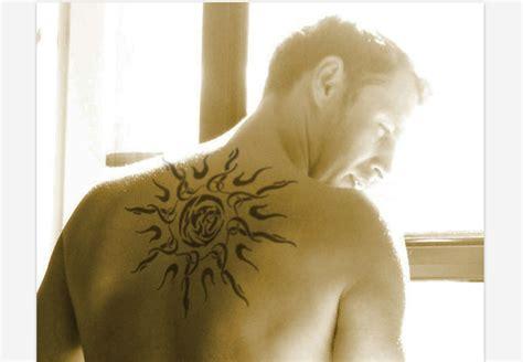 tattoo 3d sun 3d sun tattoo tribal design idea for men and women