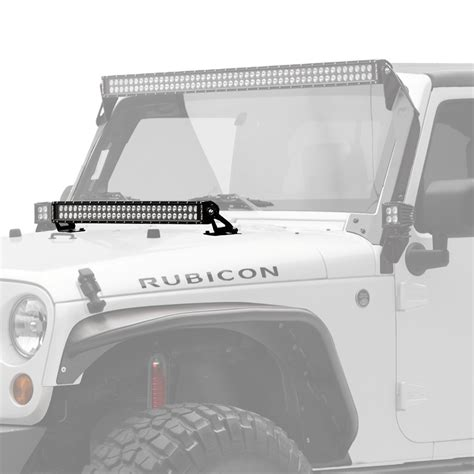 Jeep Led Light Bar Jeep Light Bars Light Mounting Solutions Kc Hilites