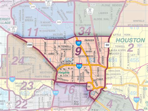 houston key map houston mls area maps