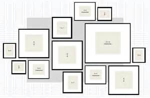 picture wall template ikea photo collage layout ideas studio design gallery