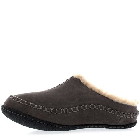 sorel house slippers mens sorel falcon ridge casual fur suede winter shoes house slippers all sizes ebay