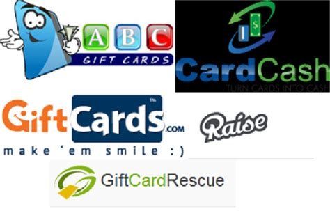 Gift Card Selling Sites - how to sell gift cards for cash