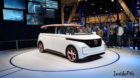 volkswagen electric concept volkswagen budd e microbus with 101 kwh battery revealed