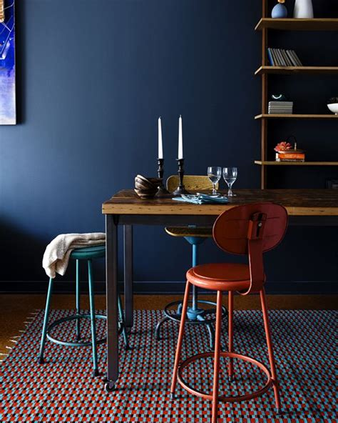dark blue dining room paint color portfolio dark blue dining rooms apartment