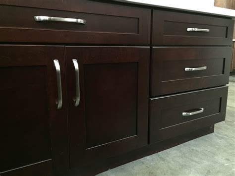 Black Shaker Kitchen Cabinets Black Cherry Colored Maple Shaker Kitchen Cabinets Photo Album