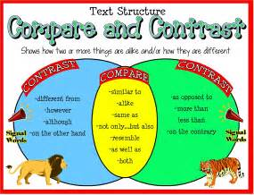 Compare And Contrast Essay Structure by Information For Students Mrs Galindo Mrs Escalada S Fourth Grade Class