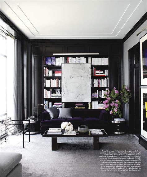 Interior Design Black Walls by Black Walls At Home Feng Shui Interior Design The Tao