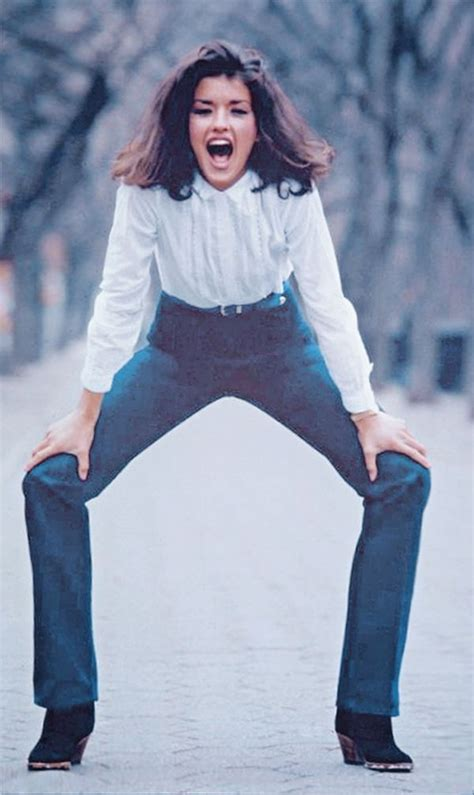 janice dickinson 1970s picture of janice dickinson she had legs that seemed to