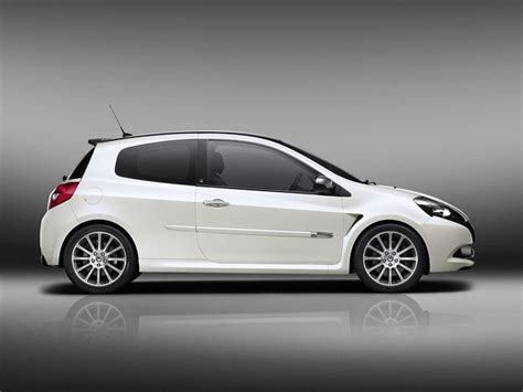 renault sport rs 01 white 2010 renault clio 20th anniversary edition conceptcarz com