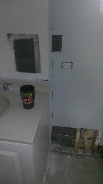 bathroom humidity level strange grout moisture level doityourself com community