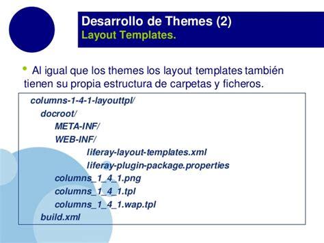 layout template in liferay liferay themestraining lr6 2 es v1 0