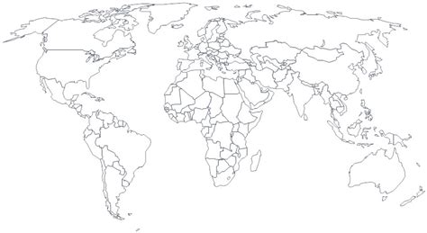 world map with cities black and white best photos of black white printable world maps mexico