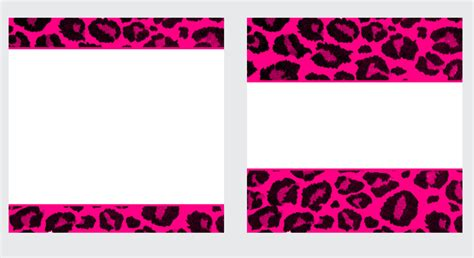 pink business card template pink leopard paper and business card templates by