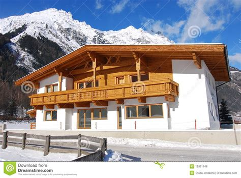 small traditional house design in tirol austria traditional tirol house royalty free stock photos image