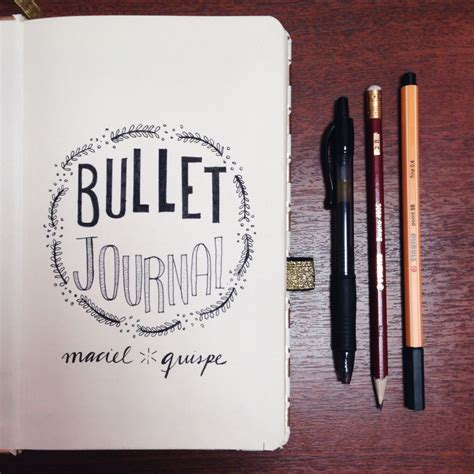 bullet for my names dec 28 a title for my new bullet journal i felt
