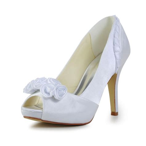 Save On Fabulous Shoes With Shoebuycouponnet by S Fabulous Satin Stiletto Heel Pumps With Flower
