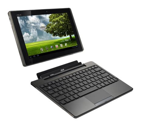 Tablet Hp Asus asus eee pad transformer android tablet the register