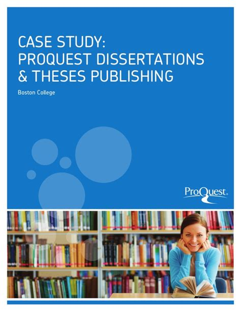 proquest umi dissertation publishing study proquest dissertations theses boston college