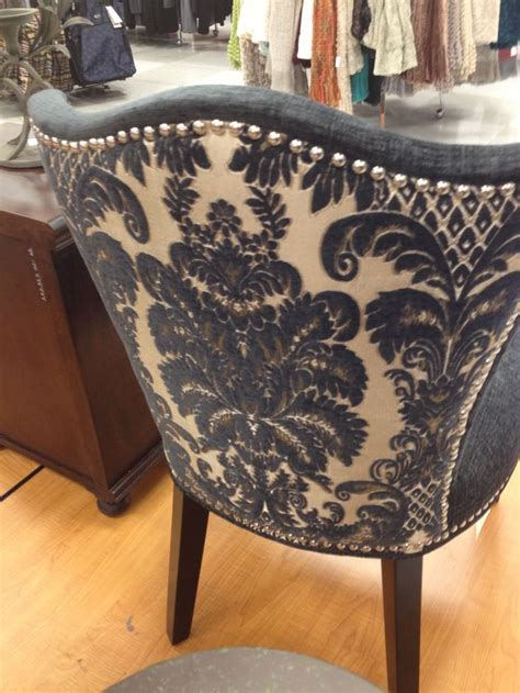 Cynthia Rowley Nailhead Accent Chair Cynthia Rowley Cynthia Rowley Dining Chairs