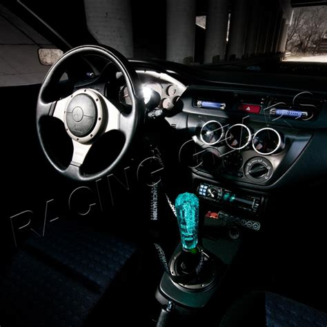 Jdm Shift Knob by Universal Vip Jdm 150mm Transparent Mt Teal Shift Knob Ebay