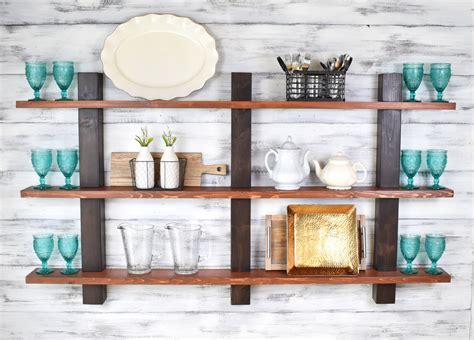 captivating modern rustic home decor 96 for your small open shelving decorative shelves wall decor kitchen