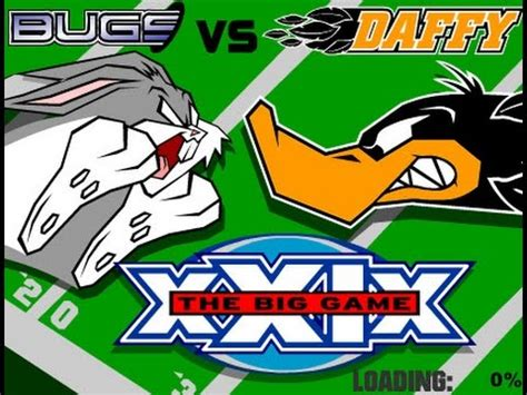 Network Daffy Duck Football bugs vs daffy football the big