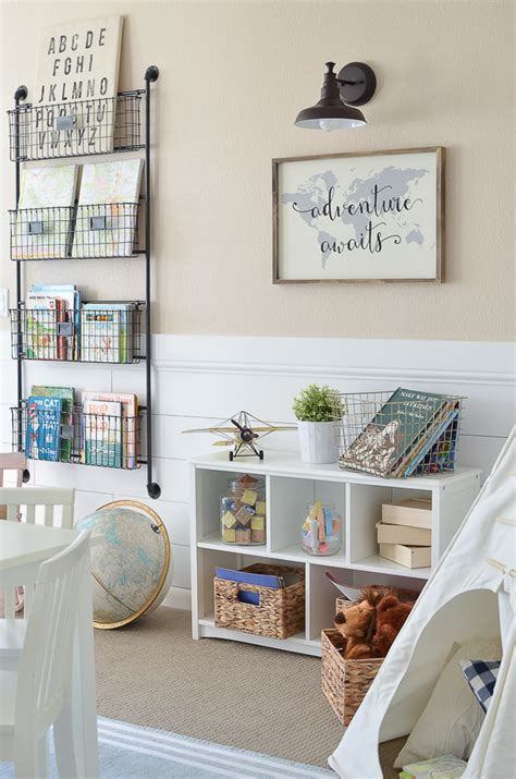 modern playroom furniture modern farmhouse playroom