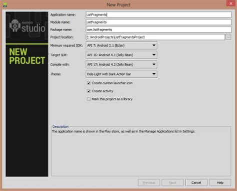 listfragment layout xml learn listfragment in android using android studio
