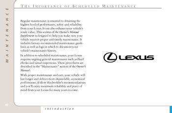 lexus es330 maintenance schedule 2001 lexus es300 maintenance schedule pdf manual 42