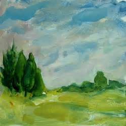 acrylic paint landscape acrylic paint creative color