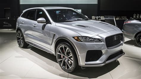 Jaguar Svr 2019 by 2019 Jaguar F Pace Svr New York 2018 Autoblog 日本版