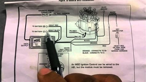 msd 6425 6al wiring diagram wiring diagrams wiring