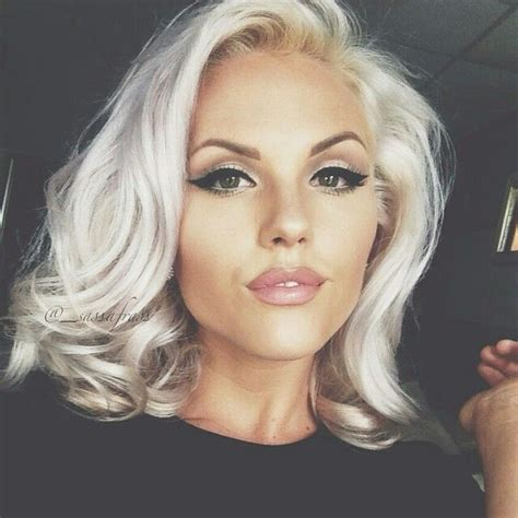 short silver blonde hair blonde a collection of other ideas to try hair