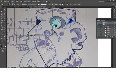 video membuat zombie cara membuat zombie vector dengan adobe illustrator