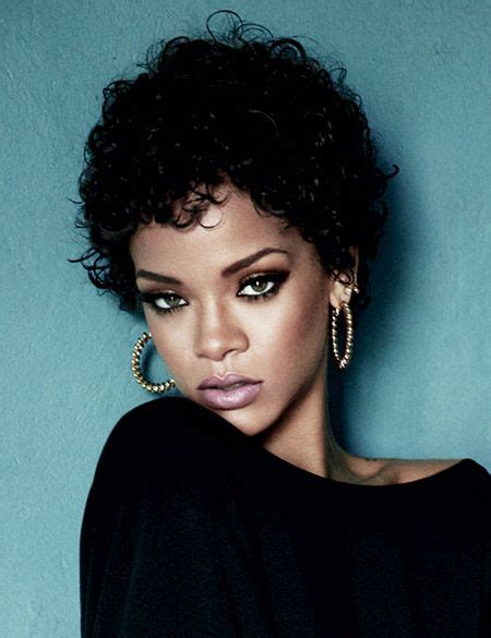 will rhianna pixie work with oblong faces best 25 curly crop ideas on pinterest short hair with