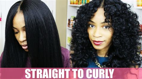 how to fix kinky weave on natural hair how to curl synthetic hair natural hair kinky straight